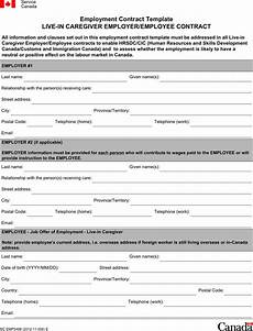 free employment contract template pdf 7 page s