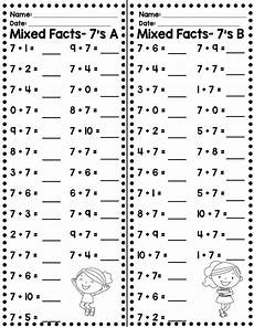 fact fluency timed tests addition and subtraction addition subtraction second grade math