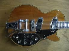 the unique guitar the les paul recording guitar