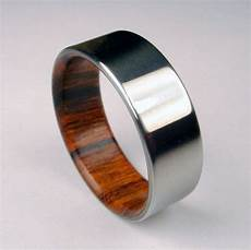 wedding ring with wood inside iconic and unique men s wedding ring designs that your hubby will love to wear