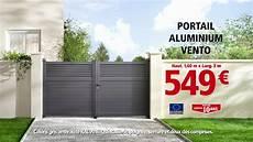 brico d 233 p 244 t portail aluminium