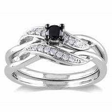 sterling silver wedding ring sets cheap