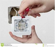 repair wiring inside apartment replacing wall light switch up image of