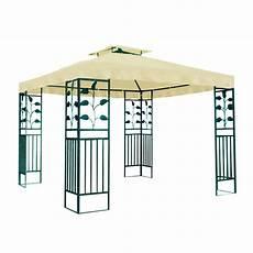 gartenpavillon metallpavillon 3x3 meter gartenzelt pavillon