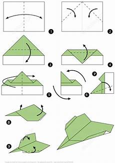 How To Make An Origami Paper Plane Step By Step