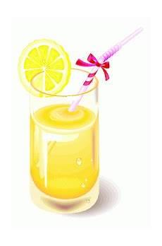 Gratis Malvorlagen Glas Glas Mit Zitrone Und Strohhalm Ausmalbild Malvorlage