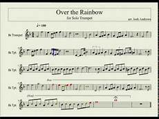over the rainbow solo trumpet sheet music in the description youtube