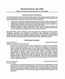 information security analyst resume