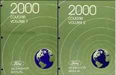 auto manual repair 2000 mercury cougar electronic valve timing 2000 mercury cougar wiring diagram manual original