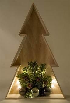 weihnachtsbaum aus holz mit beleuchtung 3d led holz weihnachtsbaum 38cm weihnachtsdeko fensterbild