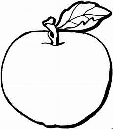 Malvorlagen Apfel Essen Einfacher Apfel Ausmalbild Malvorlage Essen Und Trinken