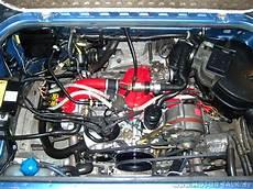 vw t3 motor fertiger motor nach dem einbau oben t3 auspuff