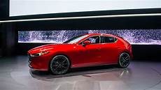 2019 mazda 3 brings premium look tech to compact segment