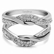 twobirch personalized s bypass wedding ring guard