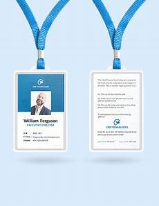 employee id card template ai free 32 id card templates word psd ai pages free