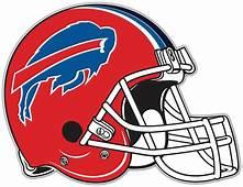 Buffalo Bills NFL Football Helmet Bumper Locker Notebook