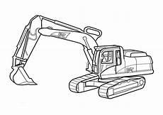 malvorlage bagger bruder excavator coloring pages