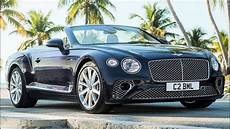 2020 bentley continental gt convertible elegant and
