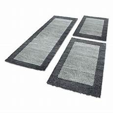 bettumrandung teppich bettumrandung hochflor teppich l 228 uferset 3 teilig bord 252 re