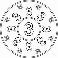 Mandala Malvorlagen Mit Zahlen Mandala Zahlen Drei Orientaci 243 N And 250 Jar Recursos