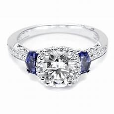 2019 latest sapphire and diamond wedding rings