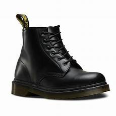 101 smooth black 6 eye boots dr martens ankle unisex boots