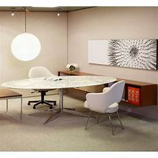 florence knoll oval table desk palette modern
