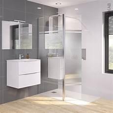 paroi douche verre miroir paroi de 224 l italienne 90 cm volet verre miroir 8