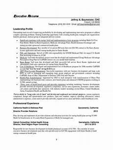 resume by design sacramento vice president managed care in sacramento ca resume jeffrey baumeister docshare tips