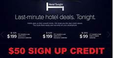 hotel tonight 50 sign up bonus loyaltylobby