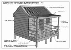 build your own cubby house plans cubby house play house quot great aussie outback style