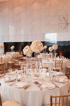 gold cream and blush table decor