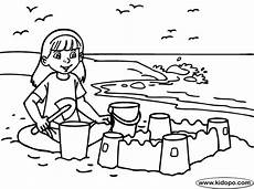 sand build coloring page