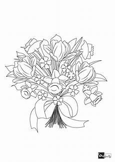 Ausmalbilder Blumen Tulpen 7 Wundervolle Blumen Malvorlagen Als Diy Family