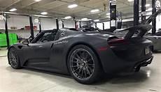 Porsche 918 Matte Black