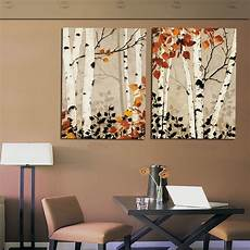 paintings for home decor modern home decor abstract tree painting birch trees