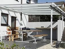 Terrassenüberdachung Trotz Balkon - grauer metallbau gmbh reutlingen stahlbau