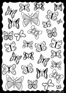 free printable butterfly coloring page ausdruckbare