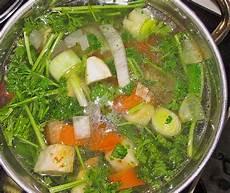 Fleischbrühe Selber Machen - home made vegetable broth german recipe best german