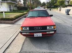1985 Audi 4000s Quattro 175k Second Enthusiast Owner