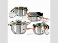 Buy 8 Pcs Golden Handle Cookware Set Online at Best Price