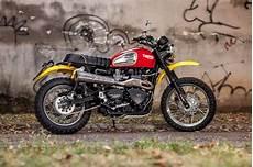 Modifikasi Motor Scrambler by Modifikasi Motor Triumph Scrambler Keren Terbaru