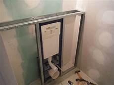 comment faire un coffrage en placo faire le coffrage en placo d un wc suspendu wc suspendu