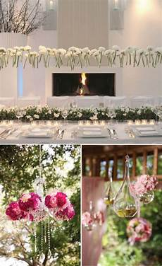 wedding decorations hanging from ceiling wedding trends hanging wedding decor the magazine