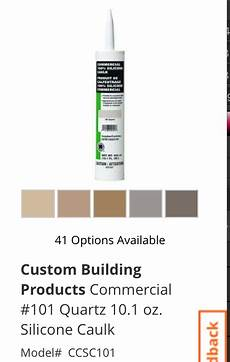 caulking can anyone recommend colored 100 silicone