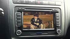 vw polo 6r whit rns 510 original hibrid tv tuner part 5