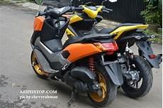 Modifikasi Aerox 155cc by Foto Ketika Yamaha Aerox 155 Dijajar Bareng Nmax Mau