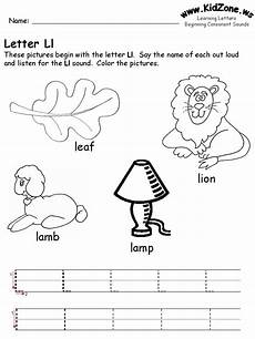 letter e worksheets kidzone 23086 preschool letter l with images preschool letters preschool worksheets letter l worksheets