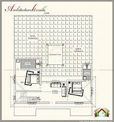 plans of houses kerala style traditional kerala style house plan with two elevations