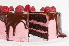 Schoko Himbeer Torte - schoko himbeer torte mit cremiger ganache rezept